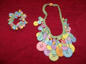 My Button Necklace