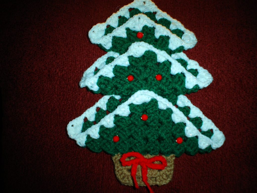 Free Crochet Granny Square Christmas Tree Pattern : 301 Moved Permanently