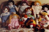 Soft Sculpture dolls 1985